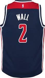Jordan Youth Washington Wizards John Wall #2 Navy 2020-21 Dri-FIT Statement Swingman Jersey product image
