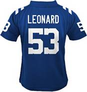 NFL Team Apparel Youth 4-7 Replica Indianapolis Colts Darius Leonard #53 Blue Jersey product image