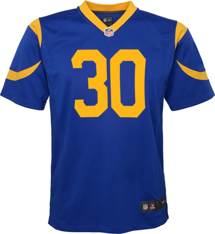 huge selection of 755eb 75f80 Nike Boys' Home Game Jersey Los Angeles Rams Todd Gurley #30