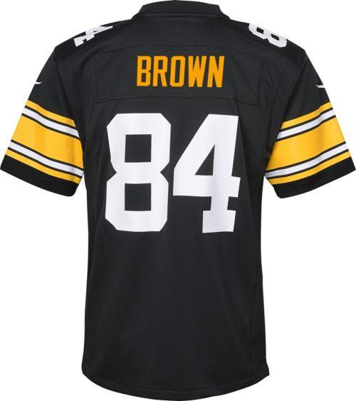 5537db215 Nike Boys  Alternate Game Jersey Pittsburgh Steelers Antonio Brown  84.  noImageFound. Previous. 1. 2. 3
