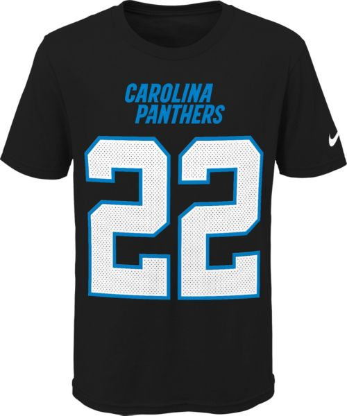 Discount Nike Youth Carolina Panthers Christian McCaffrey #22 Pride Black T  for cheap