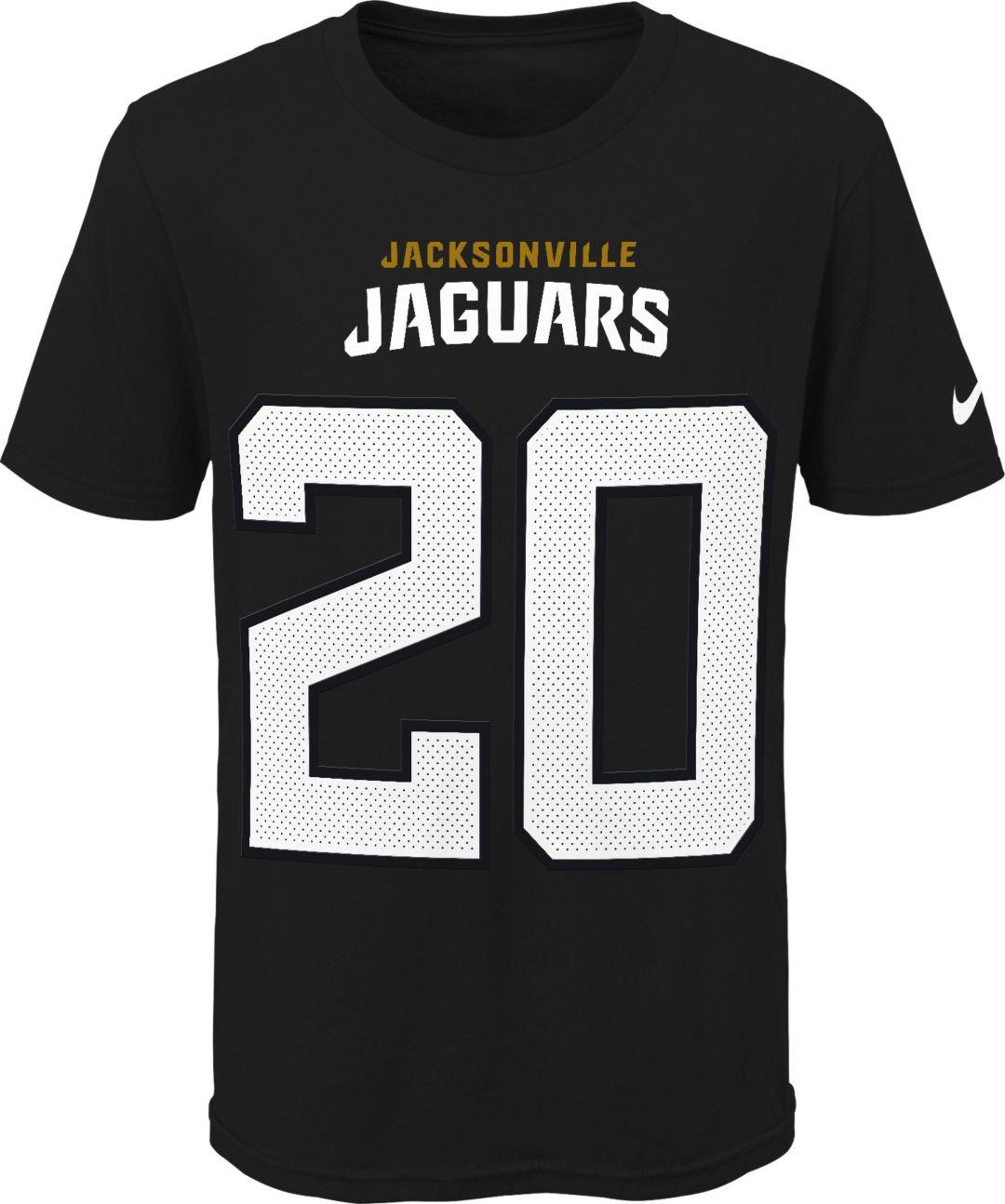 online store e070e aaf2a Nike Youth Jacksonville Jaguars Jalen Ramsey #20 Pride Black Player T-Shirt