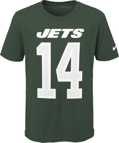 8b0af4b5704 Nike Youth New York Jets Sam Darnold #14 Pride Green T-Shirt. noImageFound.  Previous