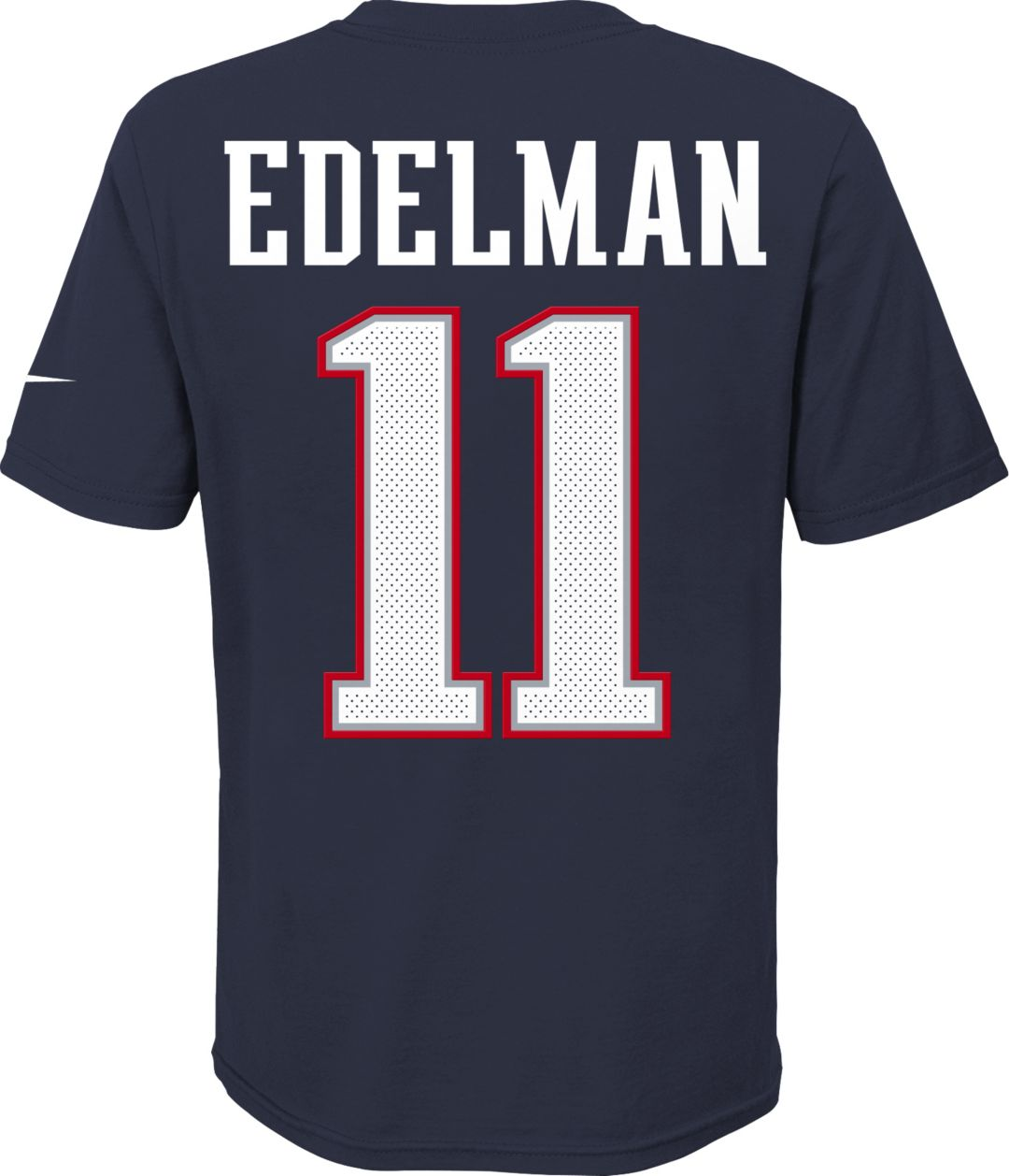 brand new 1cc22 68211 Nike Youth New England Patriots Julian Edelman #11 Pride Player Navy T-Shirt