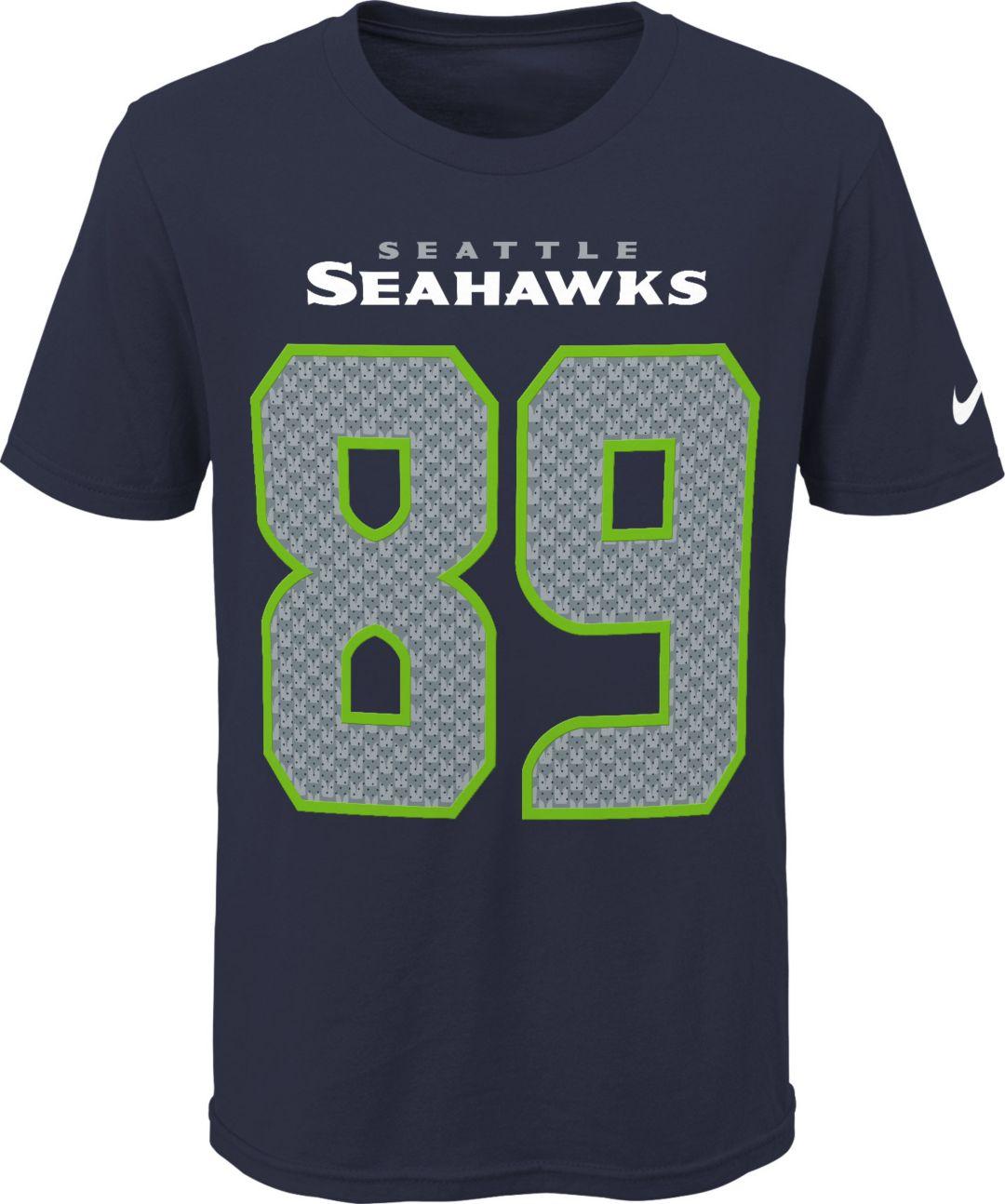 1ad8a79a Nike Youth Seattle Seahawks Doug Baldwin #89 Pride Navy Player T-Shirt