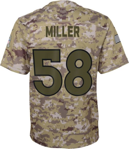 b5abf490329 Nike Youth Salute to Service Denver Broncos Von Miller  58 Camouflage Home Game  Jersey. noImageFound. Previous. 1. 2. 3
