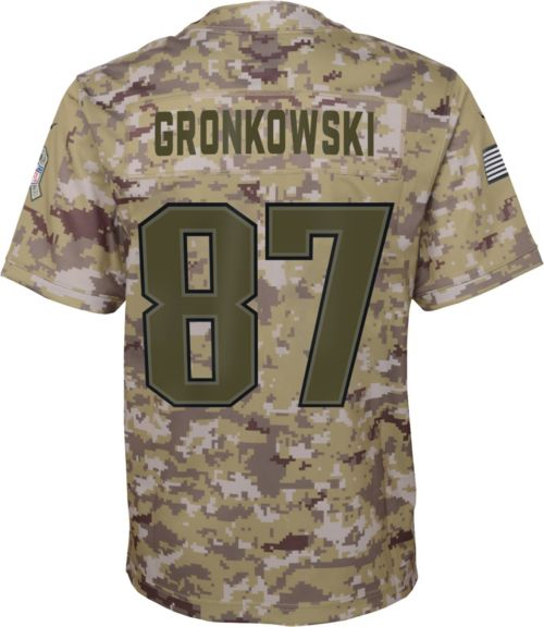 Nike Youth Salute to Service New England Patriots Rob Gronkowski  87  Camouflage Game Jersey. noImageFound. Previous. 1. 2. 3 d24dde46e