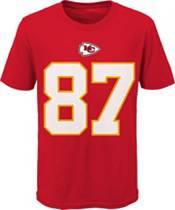 Nike Youth Kansas City Chiefs Travis Kelce #87 Logo Red T-Shirt product image