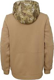 Nike Youth Salute to Service Cincinnati Bengals Therma-FIT Beige Camo Hoodie product image