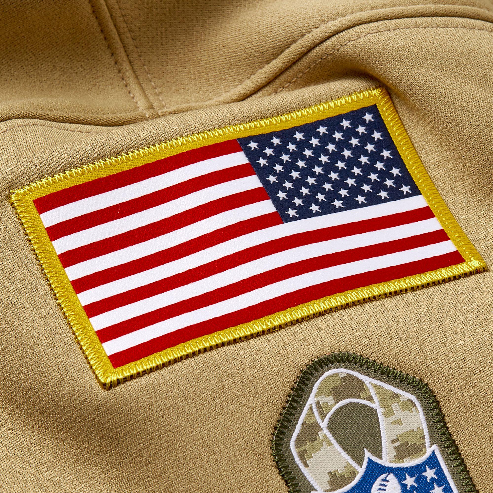 packers military salute sweatshirt