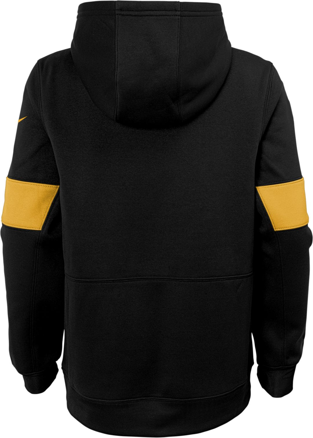 the sale of shoes coupon code reliable quality Nike Youth Pittsburgh Steelers Sideline Therma-FIT Black Pullover Hoodie