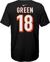 Nike Youth Cincinnati Bengals A.J. Green #18 Logo Black T-Shirt product image