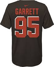 Nike Youth Cleveland Browns Myles Garrett #95 Logo Brown T-Shirt product image