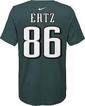 Nike Youth Philadelphia Eagles Zach Ertz #86 Logo Green T-Shirt product image