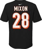 NFL Team Apparel Youth Cincinnati Bengals Joe Mixon #85 Black Player T-Shirt product image