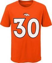NFL Team Apparel Youth Denver Broncos Phillip Lindsay #85 Orange Player T-Shirt product image