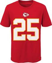 Nike Youth Kansas City Chiefs Clyde Edwards-Helaire #25 Red T-Shirt product image