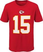 Nike Youth Kansas City Chiefs Patrick Mahomes #15 Red Player T-Shirt product image