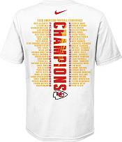 Nike Youth Kansas City Chiefs AFC Conference Champions Roster T-Shirt product image