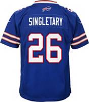 Nike Youth Buffalo Bills Devin Singletary #26 Royal Game Jersey product image