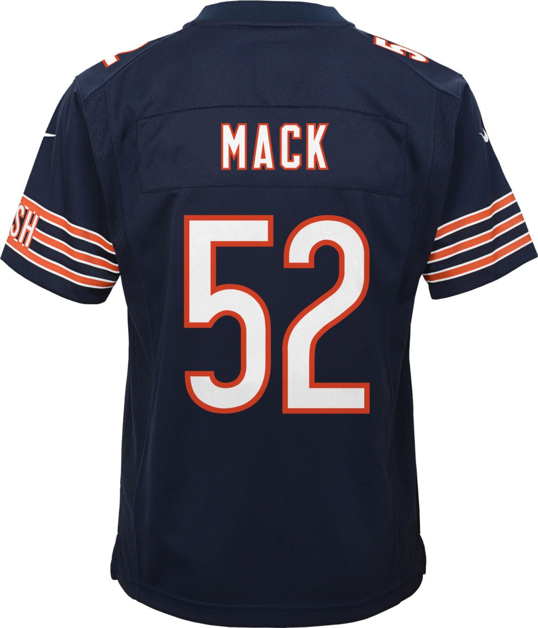 buy popular 76f71 ce778 Nike Youth Home Game Jersey Chicago Bears Khalil Mack #52
