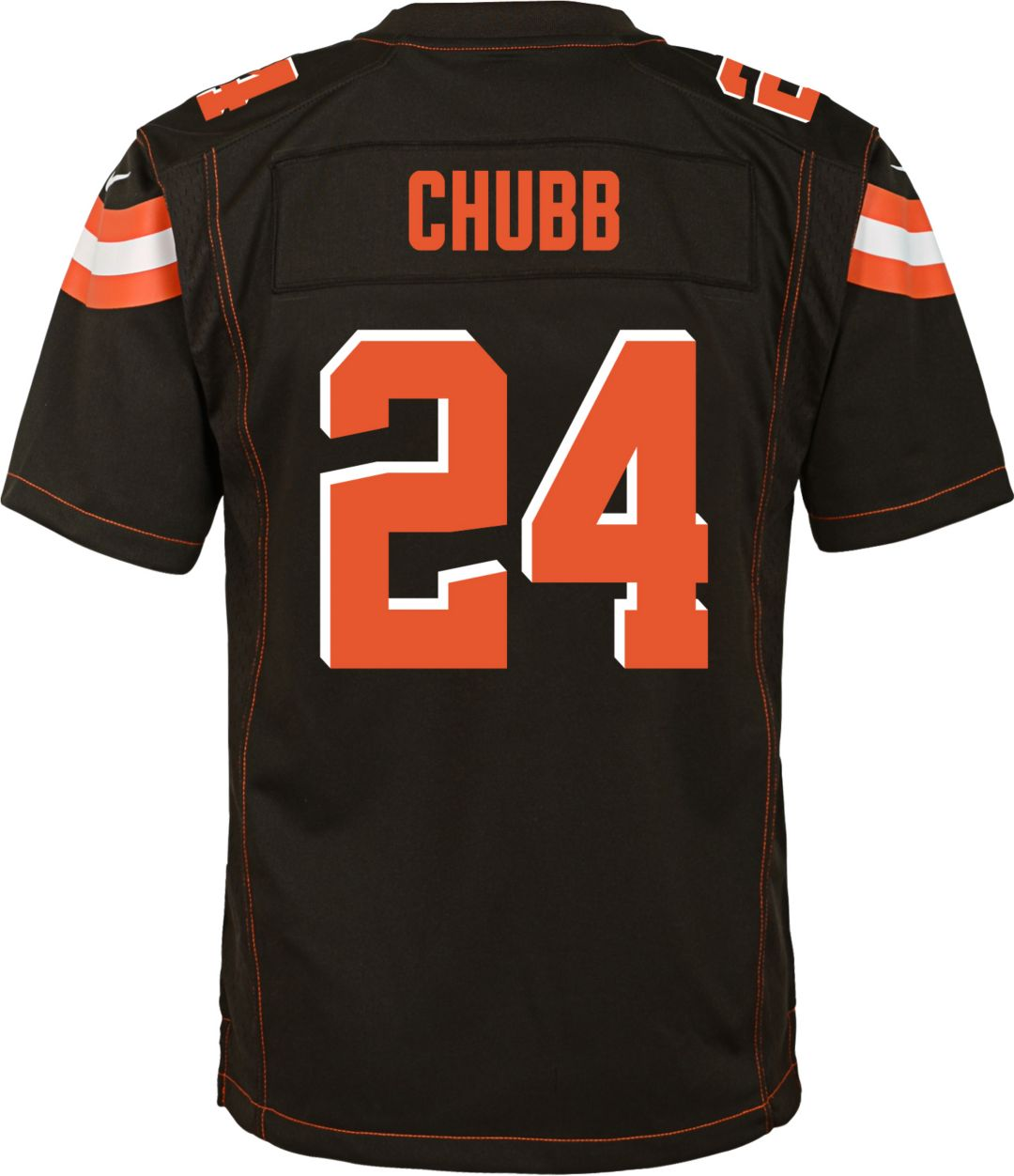 best service 41609 0eb1f Nike Youth Home Game Jersey Cleveland Browns Nick Chubb #24