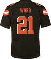 Nike Youth Home Game Jersey Cleveland Browns Denzel Ward #21 product image