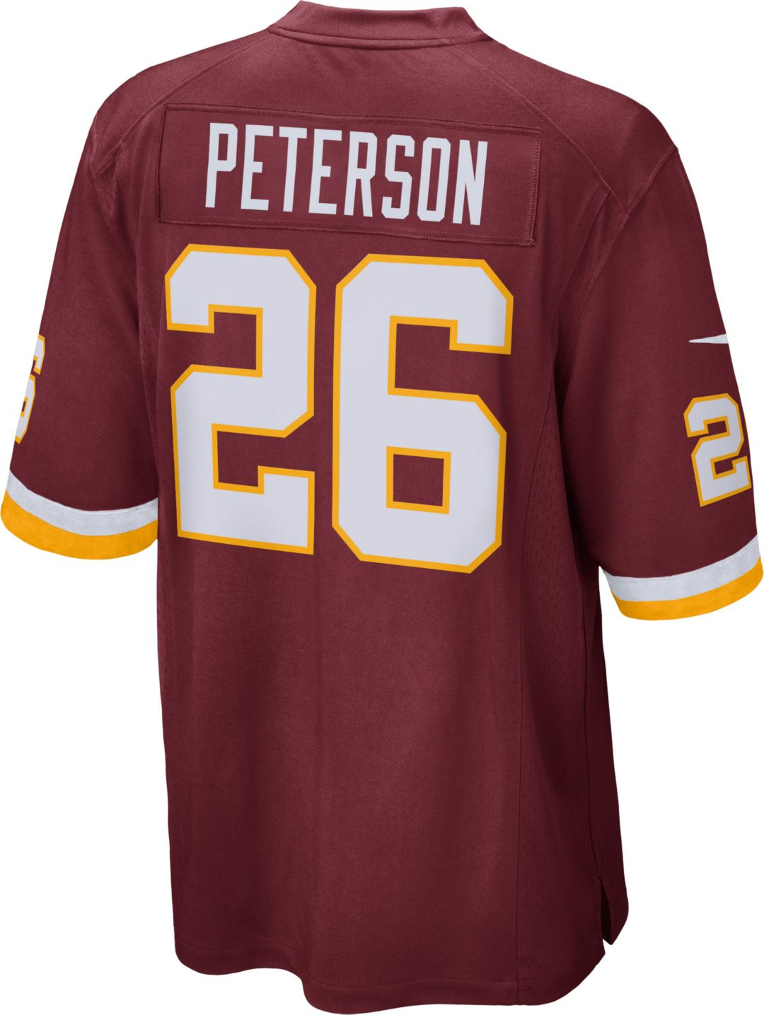 d6d26997 Nike Youth Home Game Jersey Washington Redskins Adrian Peterson #26