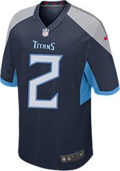 Nike Youth Tennessee Titans Julio Jones #2 Navy Game Jersey product image