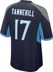 Nike Youth Tennessee Titans Ryan Tannehill #17 Navy Game Jersey product image