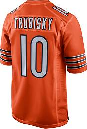 Nike Youth Chicago Bears Mitchell Trubisky #10 Orange Game Jersey product image