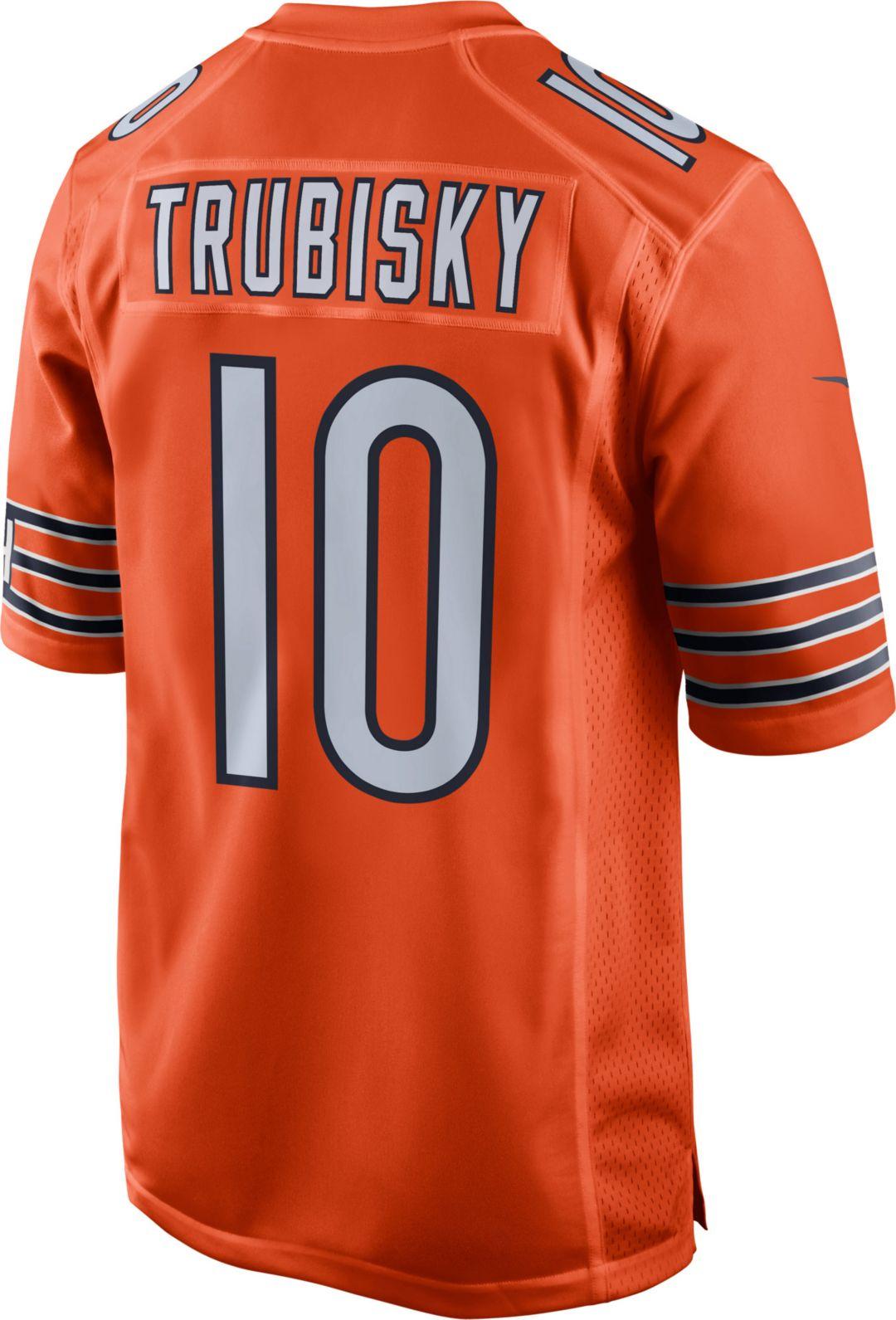 designer fashion a1ecd 6f41b Nike Youth Alternate Game Jersey Chicago Bears Mitchell Trubisky #10
