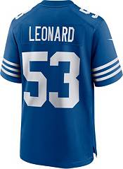 Nike Youth Indianapolis Colts Darius Leonard #53 Alternate Blue Game Jersey product image