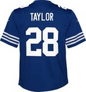Nike Youth Indianapolis Colts Jonathan Taylor #28 Alternate Blue Game Jersey product image