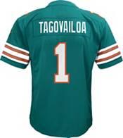NFL Team Apparel Youth Replica Miami Dolphins Tua Tagovailoa #1 Jersey product image