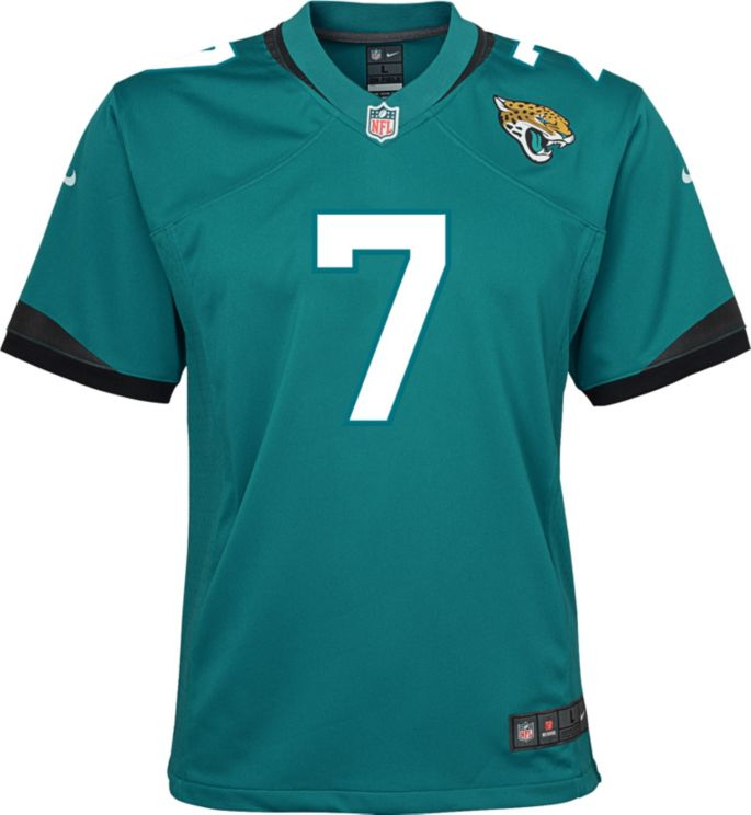 save off 208e7 11608 Nike Youth Home Game Jersey Jacksonville Jaguars Nick Foles #7