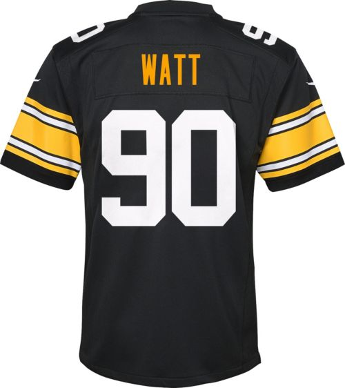 b430d23ded8 Nike Youth Alternate Game Jersey Pittsburgh Steelers T.J. Watt  90.  noImageFound. Previous. 1. 2. 3