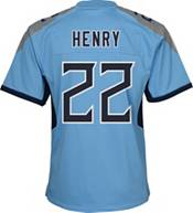 Nike Youth Tennessee Titans Derrick Henry #22 Light Blue Alternate Game Jersey product image