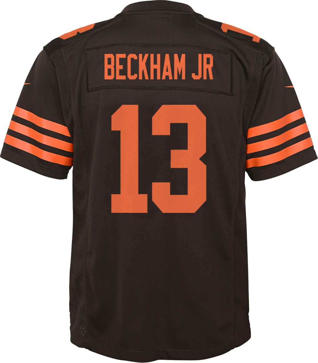 huge selection of 7a081 0cc73 Nike Youth Color Rush Game Jersey Cleveland Browns Odell Beckham Jr. #13