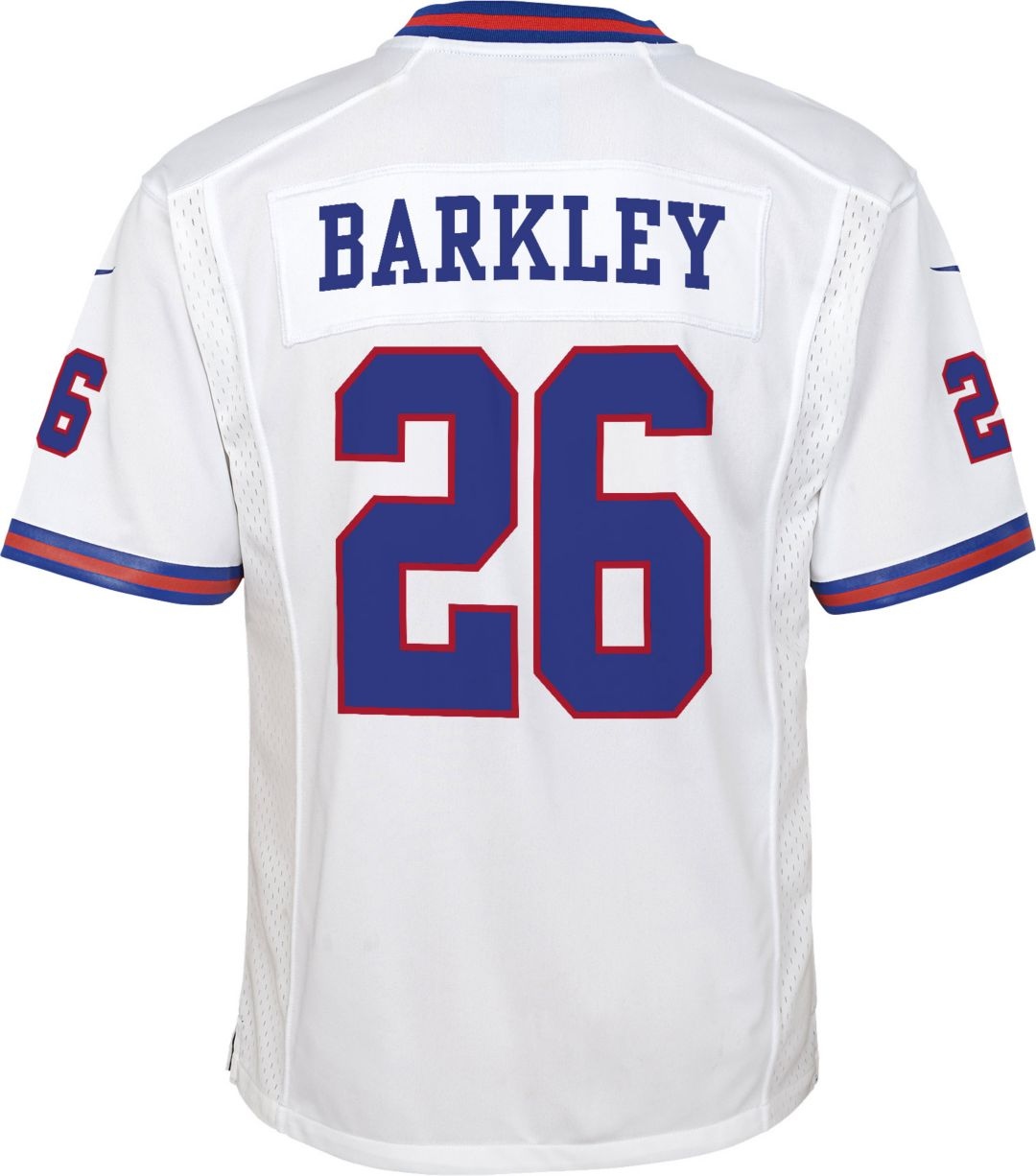 purchase cheap 458c1 3fa43 Nike Youth Color Rush Game Jersey New York Giants Saquon Barkley #26