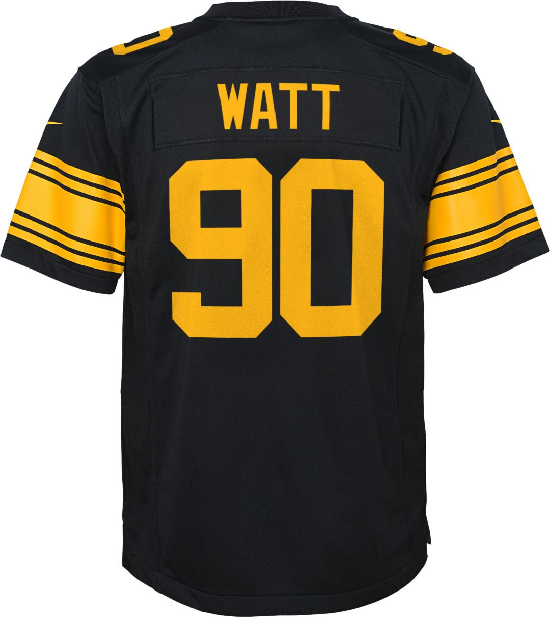 new product c08f9 ffa30 Nike Youth Color Rush Game Jersey Pittsburgh Steelers T.J. Watt #90