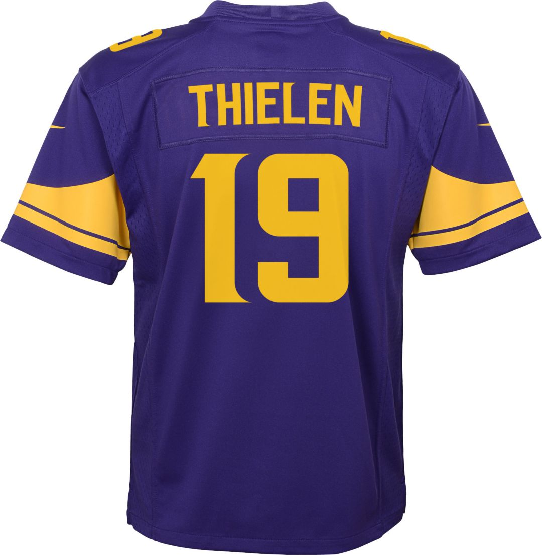 buy online 116ca a0eb6 Nike Youth Color Rush Game Jersey Minnesota Vikings Adam Thielen #19