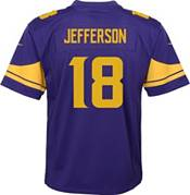 Nike Youth Minnesota Vikings Justin Jefferson #18 Purple Color Rush Game Jersey product image