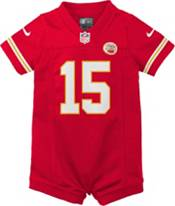 Nike Infant Kansas City Chiefs Patrick Mahomes #15 Red Romper Jersey product image