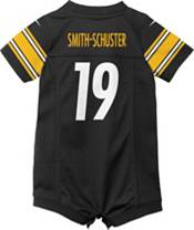 Nike Infant Pittsburgh Steelers JuJu Smith-Schuster #19 Black Romper Jersey product image