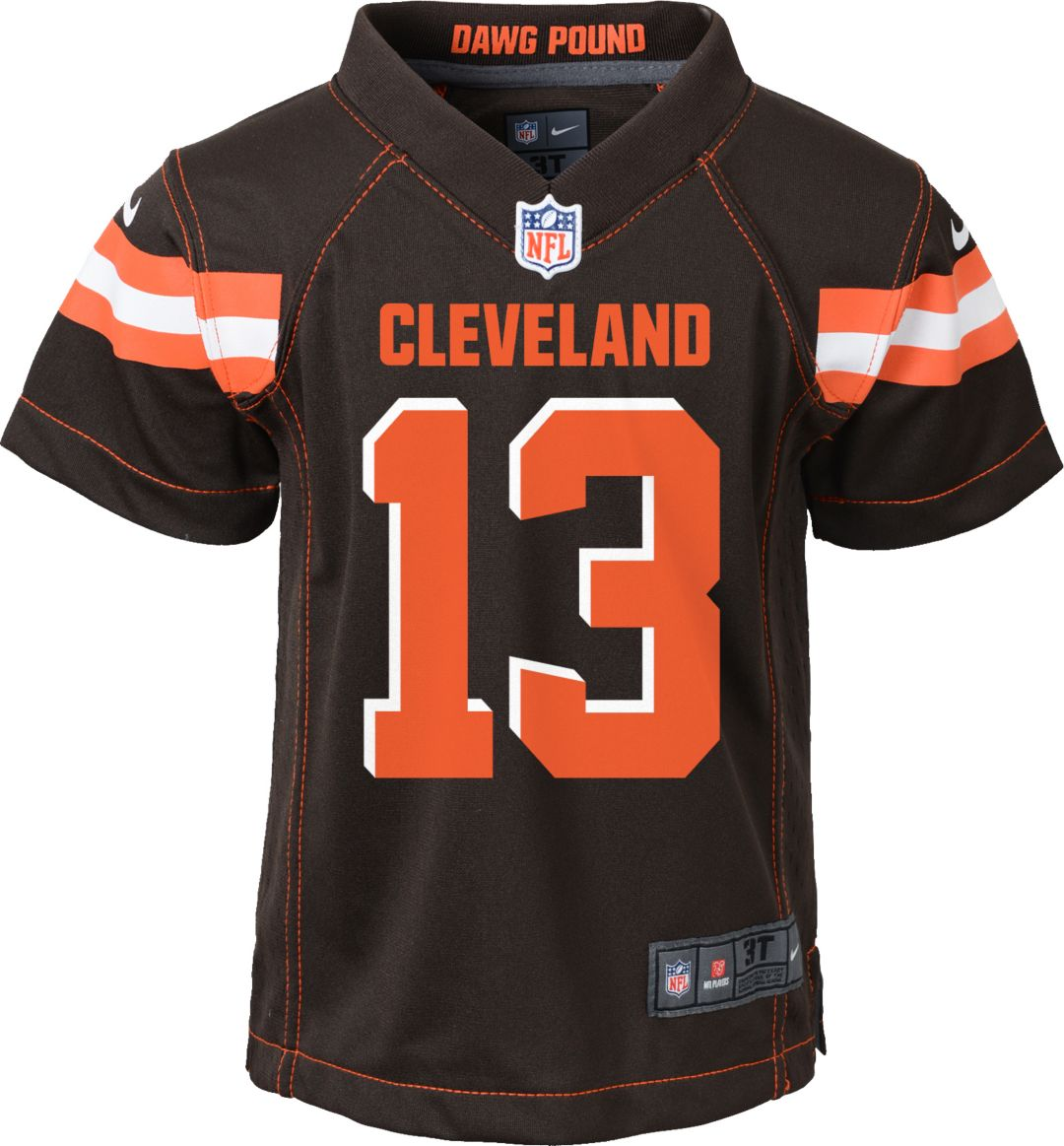 new concept 8ce76 d8bdc Nike Toddler Home Game Jersey Cleveland Browns Odell Beckham Jr. #13
