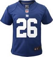 Nike Toddler New York Giants Saquon Barkley #26 Royal Game Jersey product image