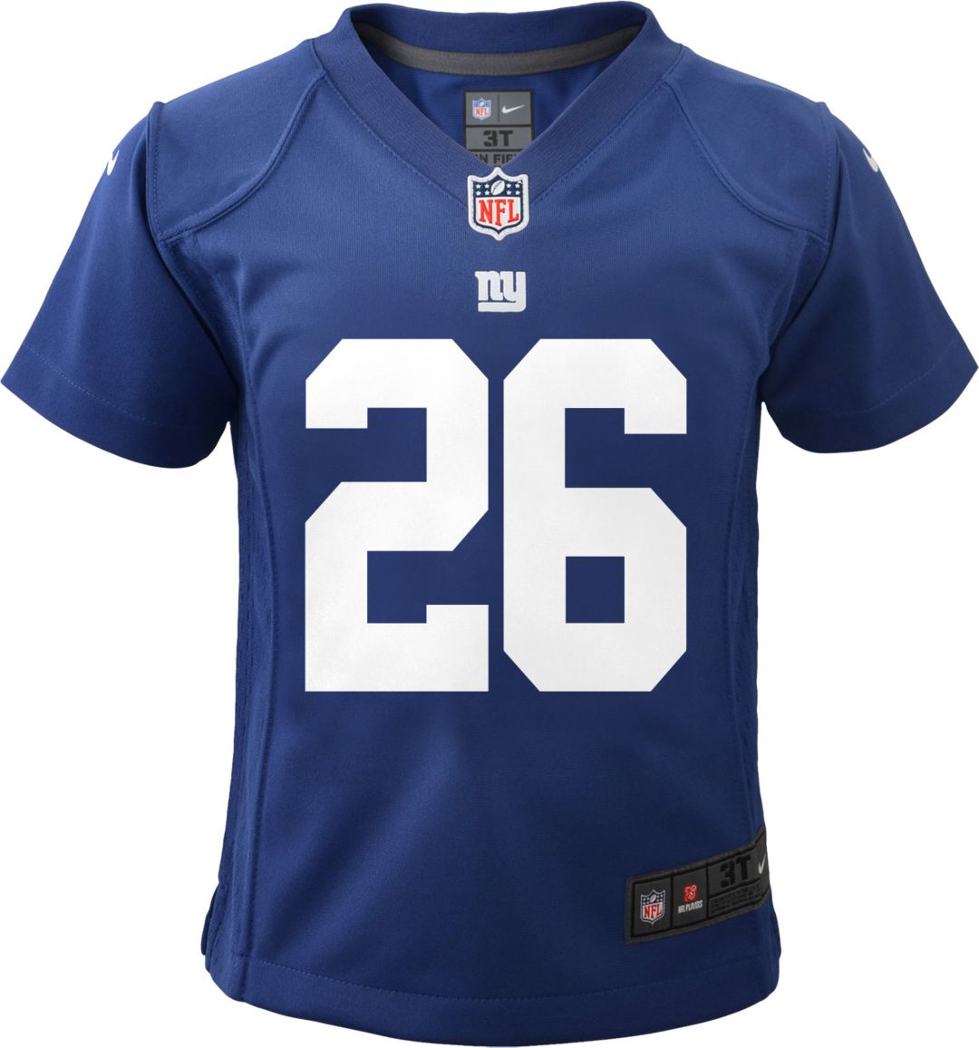 premium selection 7b2fc 120df Nike Toddler Home Game Jersey New York Giants Saquon Barkley #26