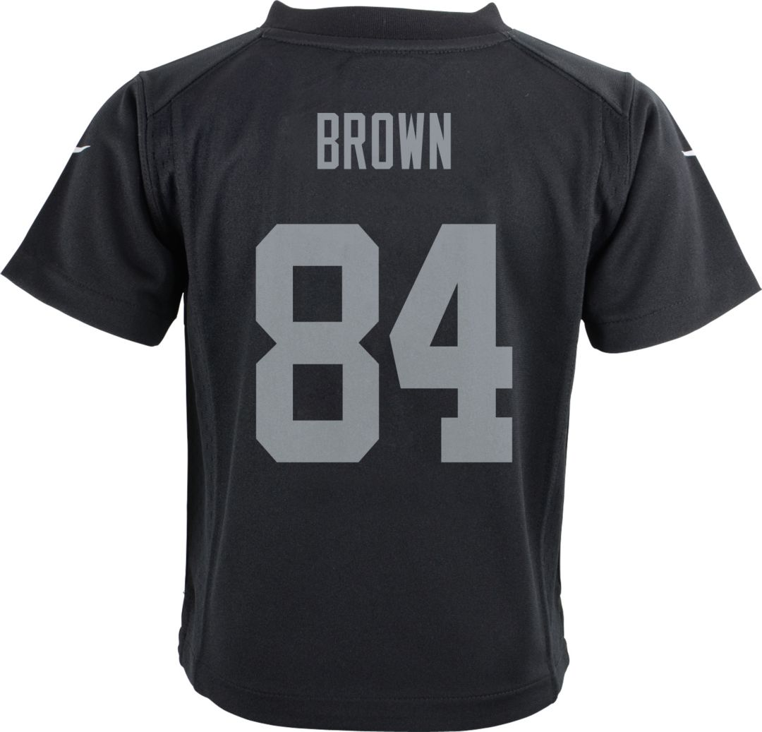Cheap Nike Toddler Home Game Jersey Oakland Raiders Antonio Brown #84  hot sale
