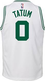 Nike Youth Boston Celtics Jayson Tatum #0 White Dri-FIT Swingman Jersey product image